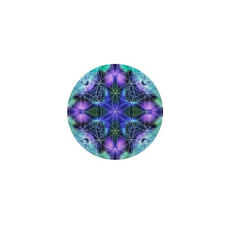 Flower of Life Mandala Mini Button (100 pack)