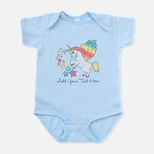 Unicorn Rainbow Star Infant Bodysuit
