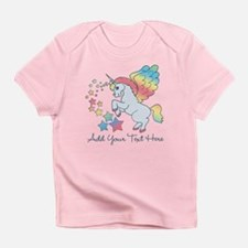 Unicorn Rainbow Star Infant T-Shirt