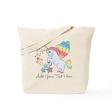 Unicorn Rainbow Star Tote Bag