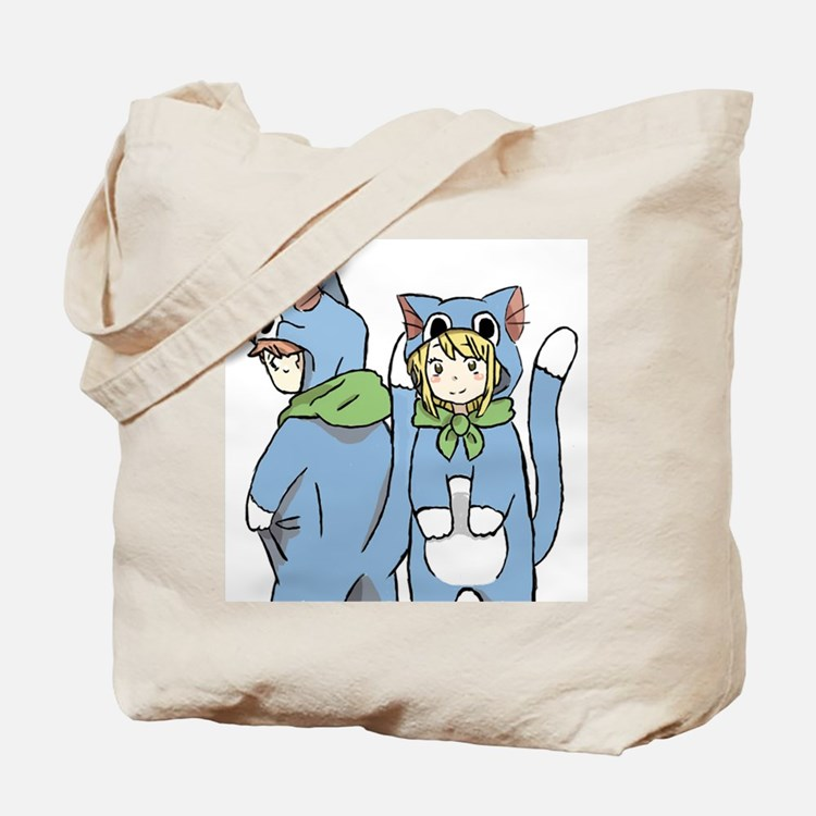 Fairy Tail Happy Suits Tote Bag