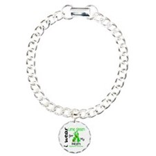 I Wear Lime 43 Lymphoma Bracelet