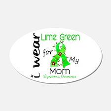 I Wear Lime 43 Lymphoma Wall Decal