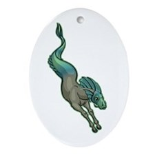 Hippocamp Ornament (Oval)