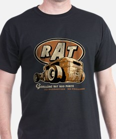 RAT-rearview-tee blk T-Shirt