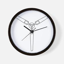 Wind Propeller Wall Clock