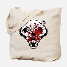 Bloody Wolf Tote Bag