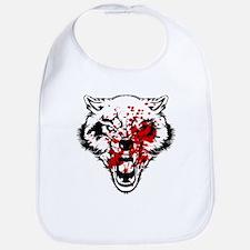Bloody Wolf Bib