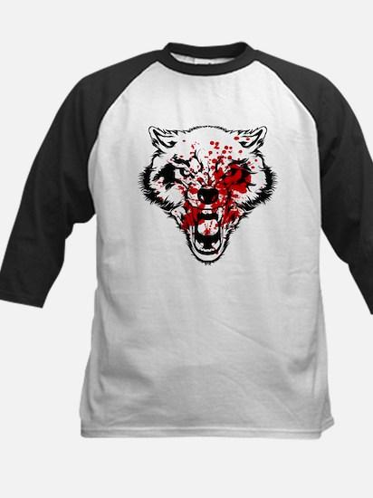 Bloody Wolf Kids Baseball Jersey