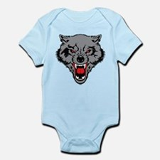 Angry Wolf Infant Bodysuit