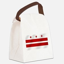 Washington DC Flag Canvas Lunch Bag