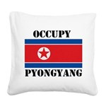 FIN-occupy-pyongyang.png Square Canvas Pillow