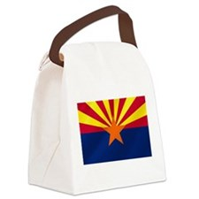 Flag of Arizona Canvas Lunch Bag