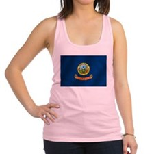 Idaho State Flag Racerback Tank Top