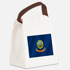 Idaho State Flag Canvas Lunch Bag