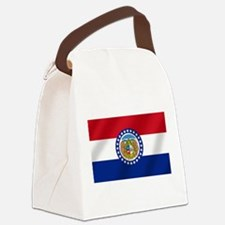 Missouri State Flag Canvas Lunch Bag
