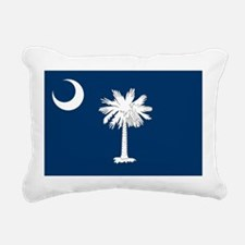 South Carolina State Flag Rectangular Canvas Pillo