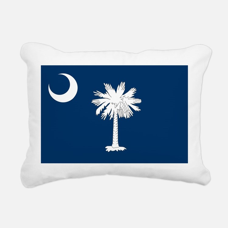 South Carolina State Flag Rectangular Canvas Pillo