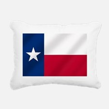 Texas State Flag Rectangular Canvas Pillow