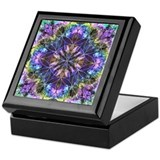 Flower of life mandala Square Keepsake Boxes