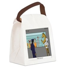 """""""The Straw"""" Canvas Lunch Bag"""