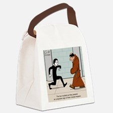 """Quiet Respect"" Canvas Lunch Bag"