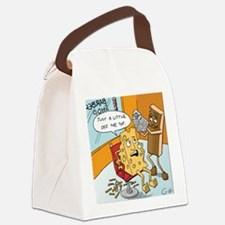 """""""Little off the Top"""" Canvas Lunch Bag"""