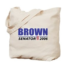 Brown 2006 Tote Bag