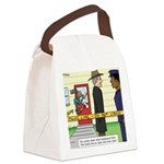 Open and Shut Case Canvas Lunch Bag