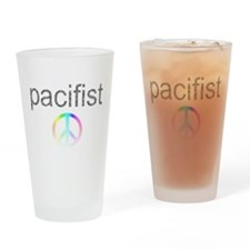 pacifist Drinking Glass