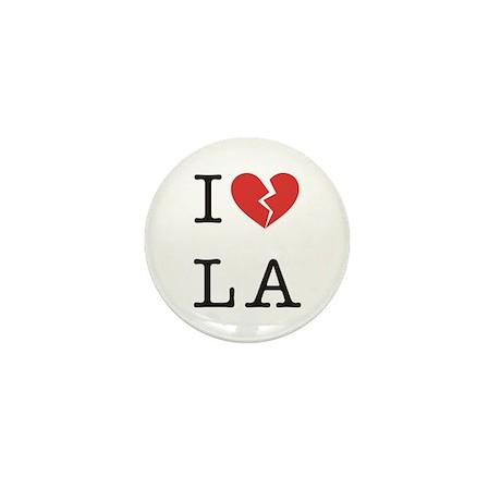 I Hate LA Mini Button