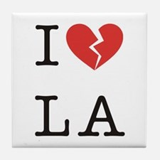 I Hate LA Tile Coaster