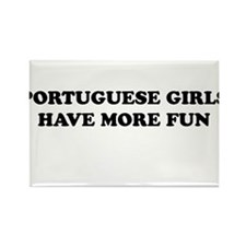 Portuguese Girls.jpg Rectangle Magnet
