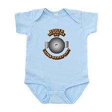 Navy - Rate - BT Infant Bodysuit