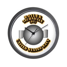 Navy - Rate - BT Wall Clock