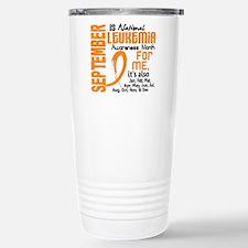 Leukemia Awareness Month Travel Mug