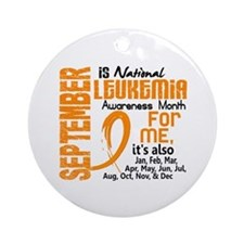 Leukemia Awareness Month Ornament (Round)