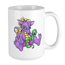 sitting dragon.png Mug
