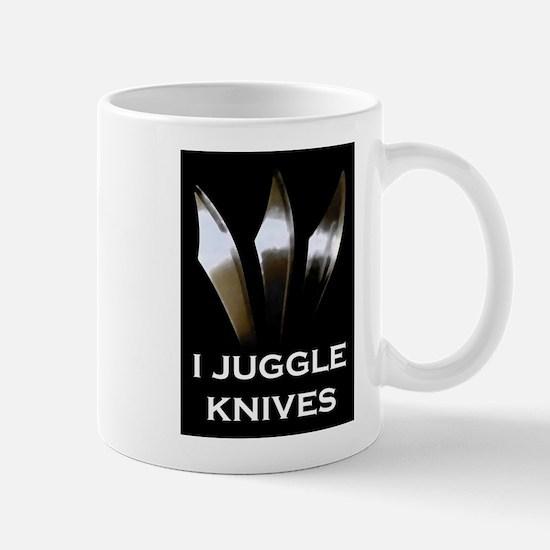 I Juggle Knives Mug
