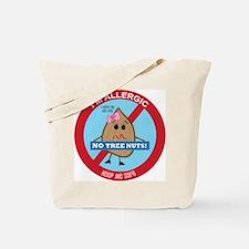 Tree Nut Allergy - Girl Tote Bag