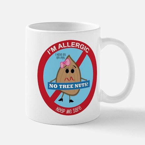 Tree Nut Allergy - Girl Mug