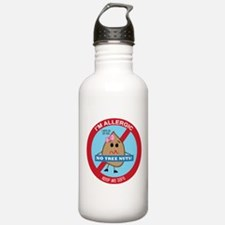 Tree Nut Allergy - Girl Sports Water Bottle