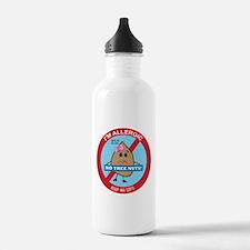 Tree Nut Allergy - Girl Water Bottle