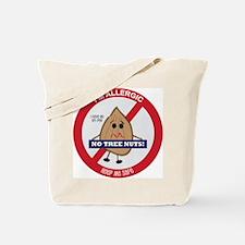 Tree Nut Allergy - Boy Tote Bag
