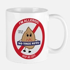 Tree Nut Allergy - Boy Mug