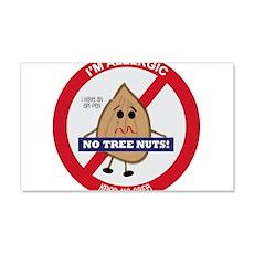 Tree Nut Allergy - Boy Wall Decal