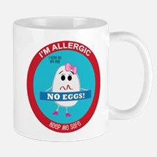 Egg Allergy - Girl Mug