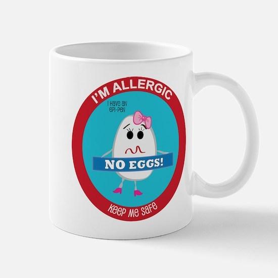 Egg Allergy - Girl Mug
