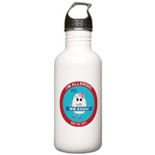 Egg Allergy - Girl Sports Water Bottle