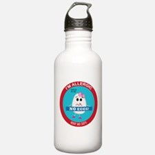 Egg Allergy - Girl Sports Water Bottle